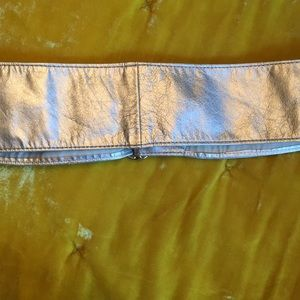 Banana Republic Accessories - Banana Republic silver wrap belt